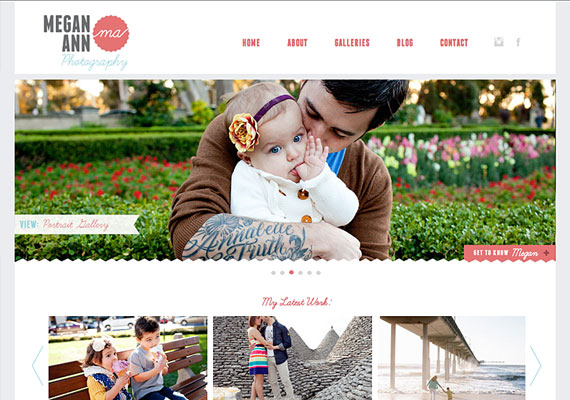 Website developed for Big Deal Branding using Wordpress.