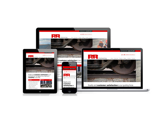 R&R Contracting was designed by Brand Navigation and developed by GelFuzion as part of our agency partnership. The site was built using the Adobe Business Catalyst CMS and is fully responsive.
